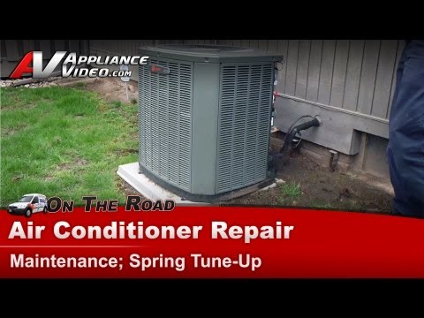 Central Air Conditioner Service Maintenance Spring tune & clean