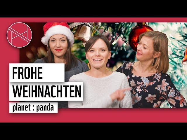 Frohe Weihnachten! | planet : panda