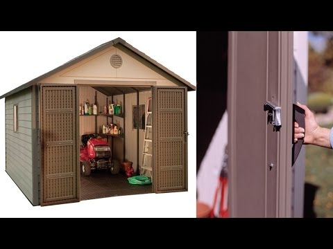 Lifetime 6433 11 By 11 Foot Outdoor Storage Shed Building