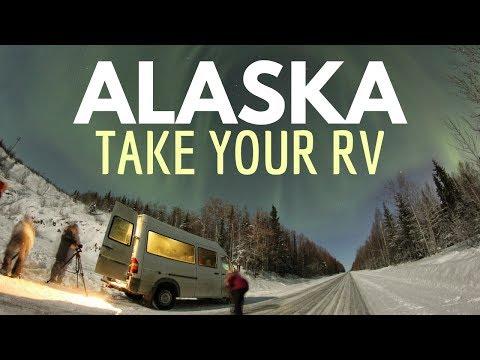 RV to ALASKA: Planning Your Alaskan Vacation Road Trip 🚐🇺🇸 RV Living Full Time