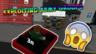 Roblox Exploiting #6 - Army Groups