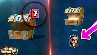 VISUAL GLITCH To OPEN A LEGENDARY Or SUPERMAGICAL CHEST Within FREE CHESTS!! Clash Royale [ReTrex]