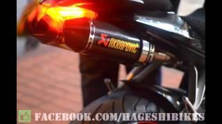 Benelli TNT600 Akrapovic full carbon half system exhaust