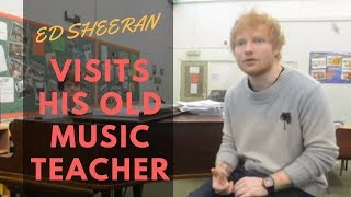 Video Ed Sheeran visits his former music teacher in Suffolk download MP3, 3GP, MP4, WEBM, AVI, FLV Januari 2018