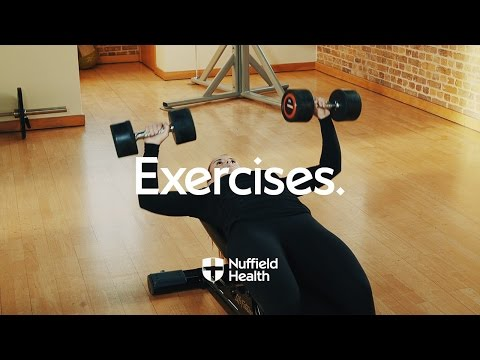 Dumbbell Chest Press | Nuffield Health