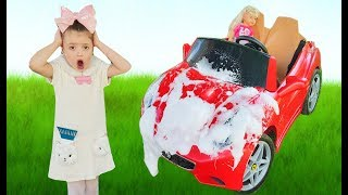 Dominika Wash Car with funny Cleaning Toys