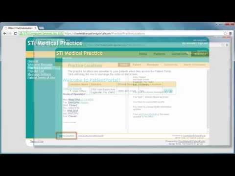 PatientPortal for Administrators