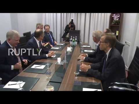 Cyprus: No secrets in front of the cameras – Lavrov and Jagland joke ahead of Ministerial meeting
