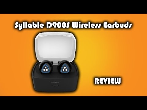 Syllable D900S Wireless Earbuds Review