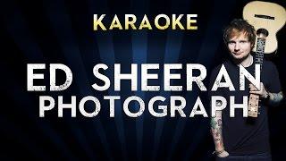 Video Ed Sheeran - Photograph | LOWER Key Karaoke Instrumental Lyrics Cover Sing Along download MP3, 3GP, MP4, WEBM, AVI, FLV Januari 2018