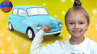 ВЛОГ поход в Музей Научных Открытий - Ярослава подняла Автомобиль Видео для детей