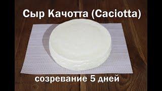 Сыр Качотта Caciotta полный рецепт приготовления итальяноского сыра не требует выдержки