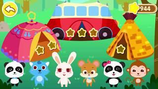 키키와 묘묘의 봄 소풍날~!|베이비버스 앱 동영상|BabyBus Game