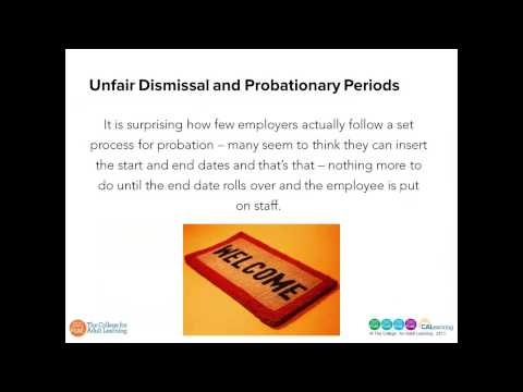 Managing Performance during the Probationary Period