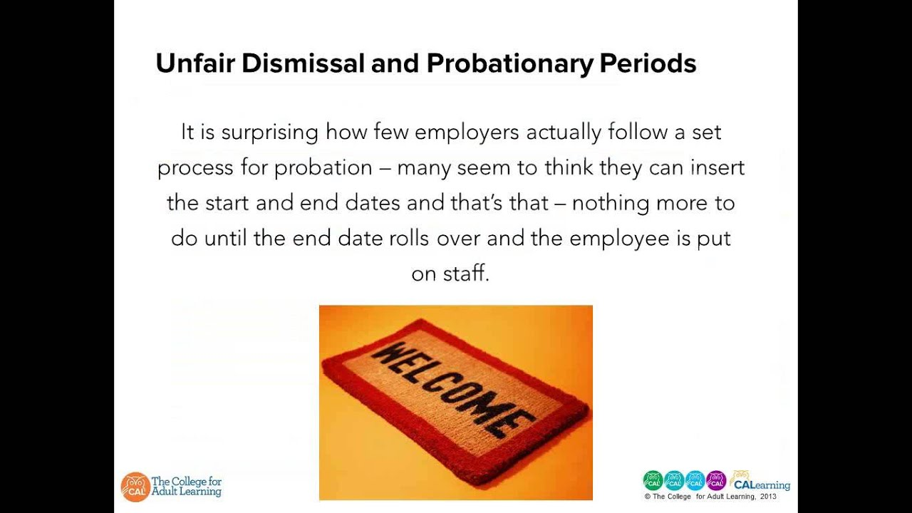 What is the probationary period under the labor code? 37