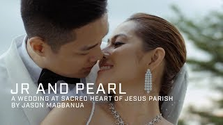 Jr and Pearl: A Wedding at Sacred Heart of Jesus Parish, Alabang