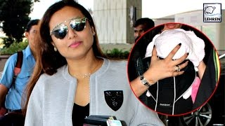 Rani Mukerji With Adira Spotted At Airport | LehrenTV