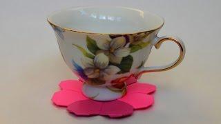 Оригами Подставка под чашку