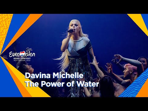 Davina Michelle - 'The Power of Water' | First Semi-Final | Eurovision 2021