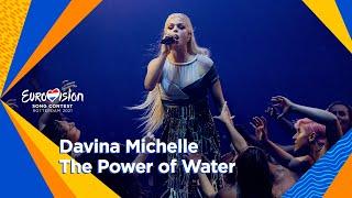 Davina Michelle - 'The Poẁer of Water' | First Semi-Final | Eurovision 2021