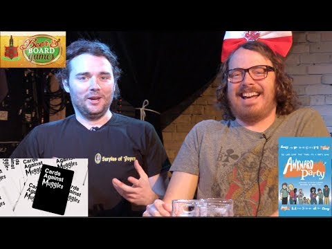 Cards Against Muggles + Awkward Party + Popes (at Fan Quest Canada) - Beer and Board Games