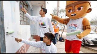 """Lima 2019: se inició campaña """"Pintamos todos, Jugamos todos"""""""