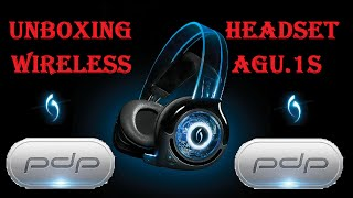 unboxing pdp afterglow headset agu 1s wireless 5 1 ita