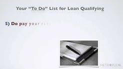 "What ""To Do"" when Qualifying for a USDA Loan"