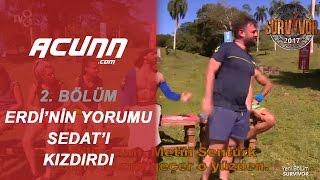 Erdi'nin Oyun Sonrası Yorumu Sedat'ı Kızdırdı! | Bölüm 2 | Survivor 2017
