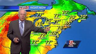 Video: Warm Wednesday and a check on Hurricane Jose