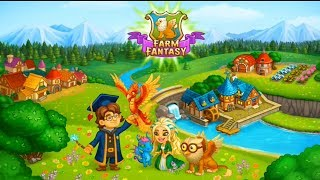Farm Fantasy: Happy Magic Day in Wizard Harry Town