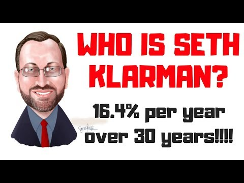 SETH KLARMAN - VALUE INVESTING - 16.4% PER YEAR - INTRODUCTION