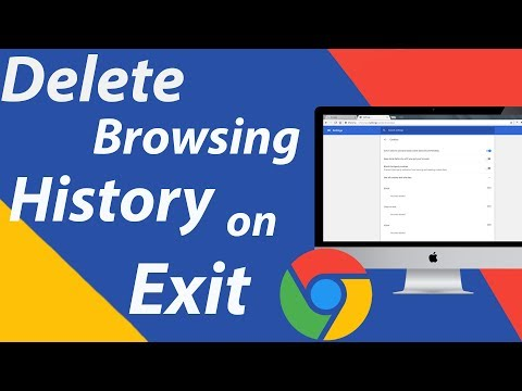 How to Delete Browsing History on Chrome Exit