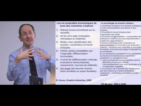 Pierre-Michel Menger : Où situer la dimension créative du travail ?