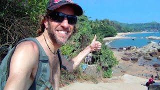 Gokarna, India: Walking From Gokarna Town to Om Beach