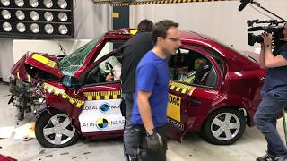 Crash Test Chevrolet Aveo Latin Ncap | Autoblog Uruguay