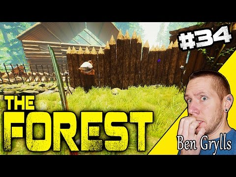 UPDATE (STICK & ROCK BAGS) - NEW CREATURE SOUND? |  THE FOREST | W/ Ben Grylls ~ EP 34 ~ Alpha v0.43