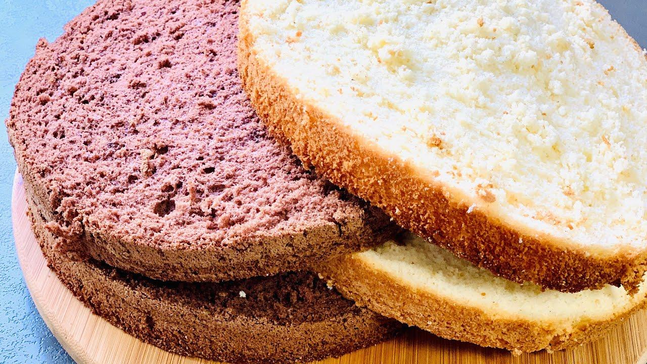 рамках самый нежный бисквит рецепт с фото просто