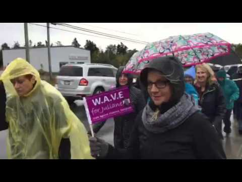 Walk Against Violence Everyone Conception Bay South
