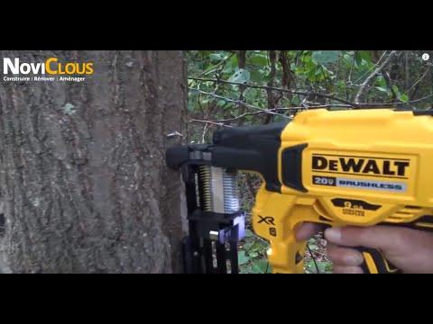 DEWALT DCFS950P2 AGRAFEUSE CLOTURE SUR BATTERIE: Test et essai