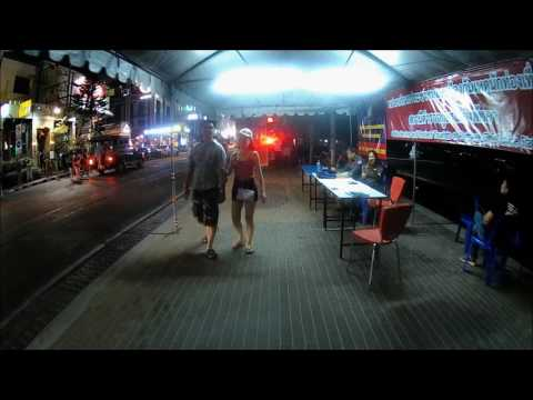 Pattaya Beach Road Saturday Walk 4.3.2017 [v015] No videoo