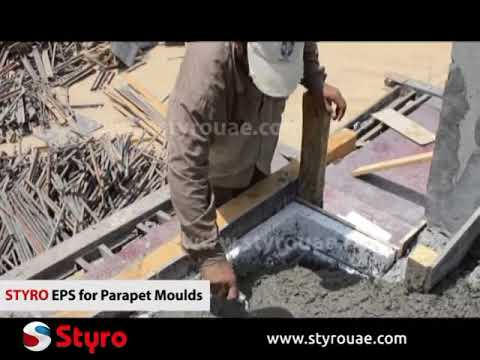 Parapet Moulds For Concrete Shaping Styro Youtube