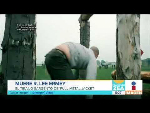 Muere a los 74 años el actor estadounidense R. Lee Ermey | Noticias con Francisco Zea