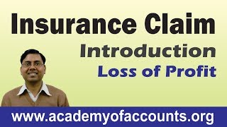 #2 Insurance Claim Accounting ~ Loss of Profit (Introduction)