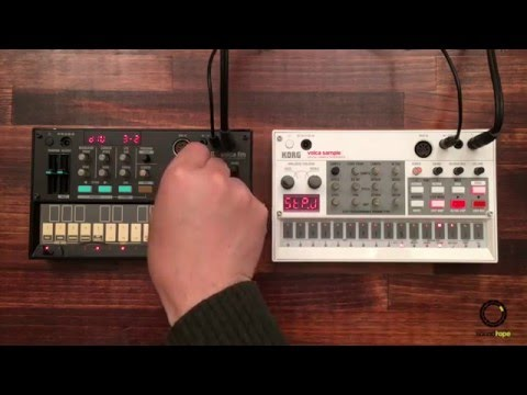 KORG volca fm #3 | with volca sample