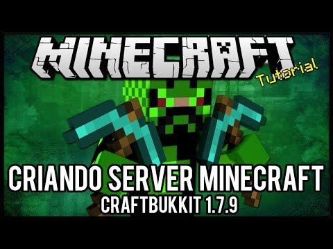 [Tutorial]Como Criar Server de Minecraft 1.7.9