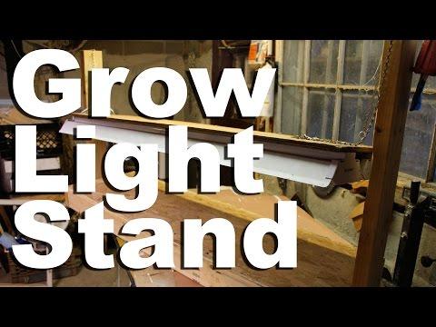 Grow Light Stand - GardenFork