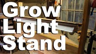 Grow Light Stand - Gardenfork.tv