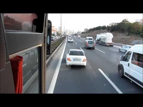 74 BR 060 - Kamil Koç Turizm Dudullu tesislerine giderken.