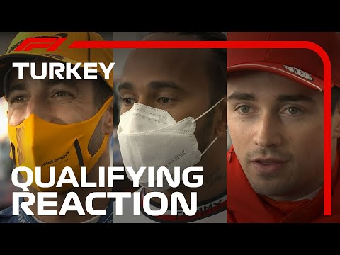 Drivers React After Qualifying | 2021 Turkish Grand Prix